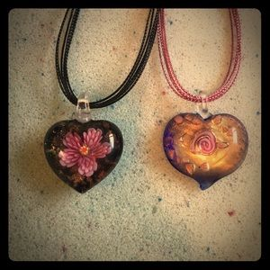 Jewelry - Heart Necklace Set