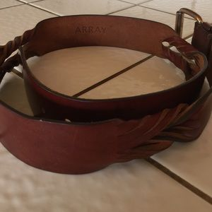 array Accessories - ARRAY OIL TANNED HARNESS LEATHER BELT