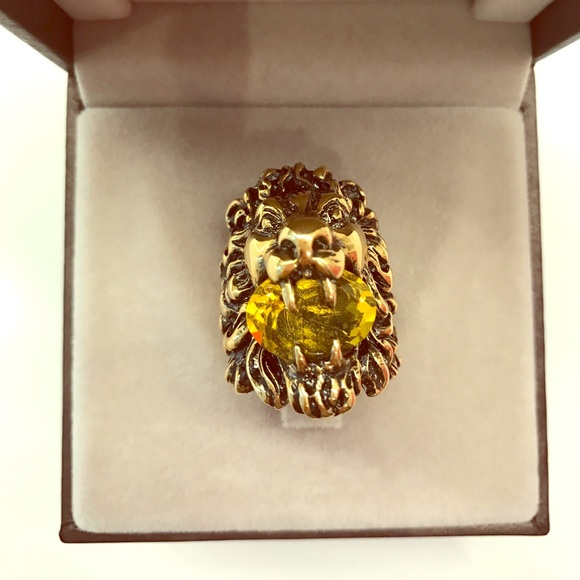 off Gucci Jewelry Gucci Lion head ring from Chase s closet