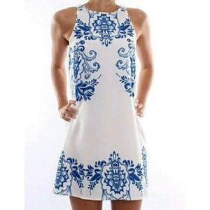Dresses & Skirts - 👗Summer Blue & White Dress