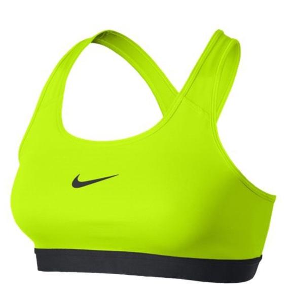 da3f334cd3a70 NWT Neon Yellow Nike Sports Bra NWT
