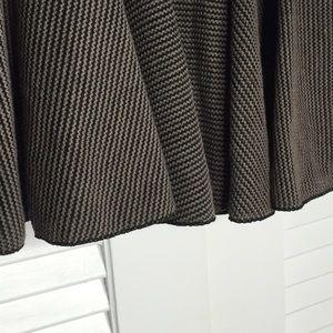 Nasty Gal Skirts - NWOT Nasty Gal Ark & Co. Pleated Skirt Mocha/Black