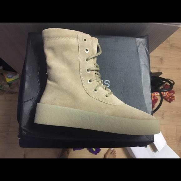 104b353edbfce Yeezy Season 2 Crepe-Sole Boot