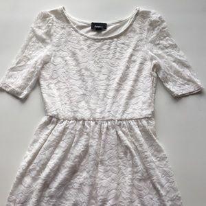 Amy Wear Dresses & Skirts - White Lace Dress