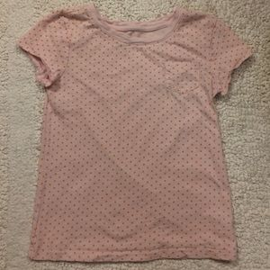Gap Kids Shirts & Tops - Gap Kids Pink Orange Polka Dot Short Sleeve Tee