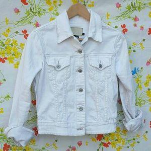 Calvin Klein Jeans Jackets & Blazers - White Calvin Klein Denim Jacket