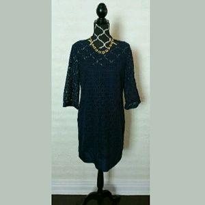 Laundry by Shelli Segal Dresses & Skirts - Laundry Circle Lace Overlay Dress