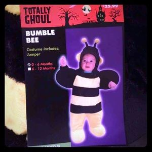 BRAND NEW INFANT BEE COSTUME 0-6 MTH