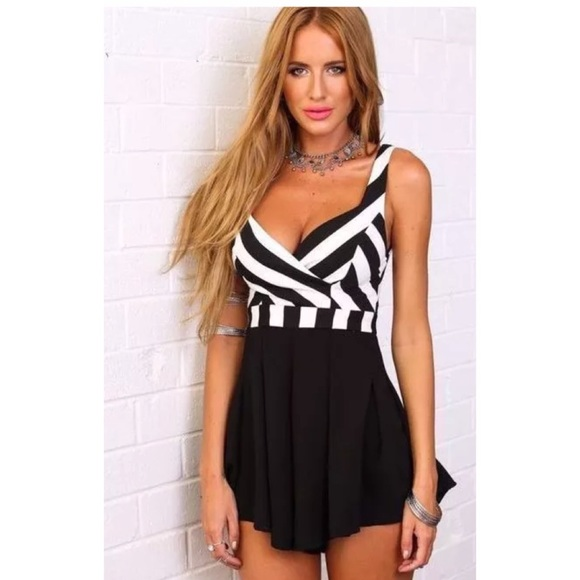 ce92567aedf Hello Molly Clear Direction Playsuit