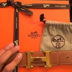 Hermes Accessories - Authentic Hermes 32mm Reversible Belt Kit