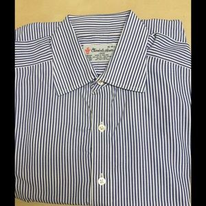 Turnbull & Asser Other - Turnbull & Asser  Classic  blue white pinstripe