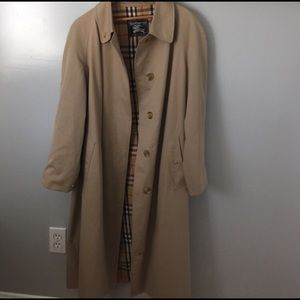 842efeac8 Vintage Burberry Trench Coat