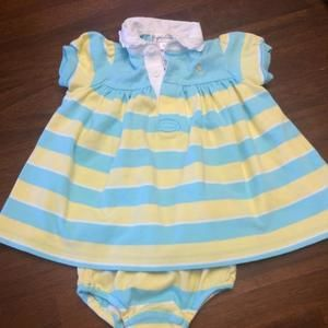 Ralph Lauren Other - Ralph Lauren dress with matching diaper cover.