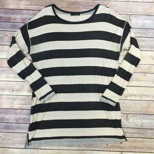 濾FLASH SALE Zara Striped long sleeve tee