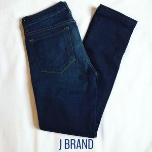 J Brand Pencil Straight Leg Dark Denim Jeans Sz 26