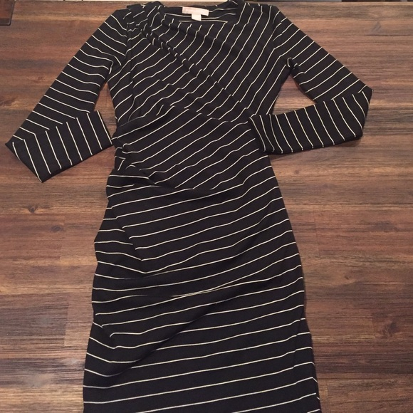 a3cd7d5f57d Banana Republic Dresses   Skirts - Banana Republic Striped Bodycon Sweater  Dress