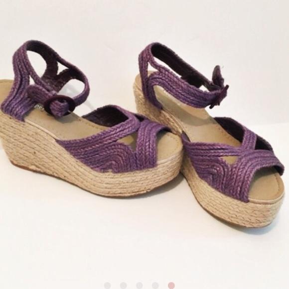 pink duchess Shoes | Purple Espadrilles