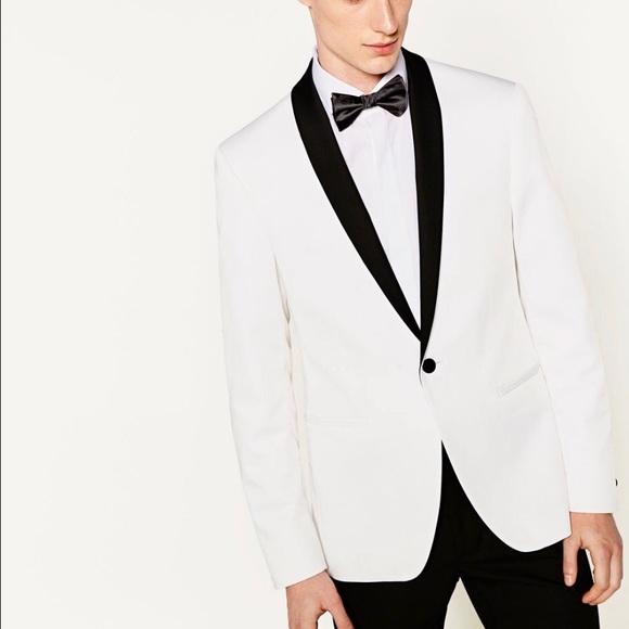 Zara Suits Amp Blazers Mens Tuxedo Jacket Size 38 Poshmark