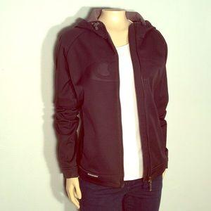 Saloman black winter jacket  wind proof design