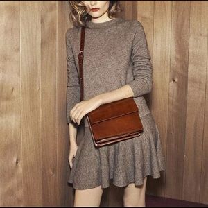 Cute merino wool sweater dress