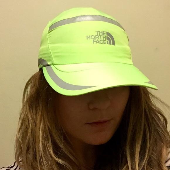 8df16f76de4075 The North Face Accessories | Neon Green Dad Hat Flight Series | Poshmark