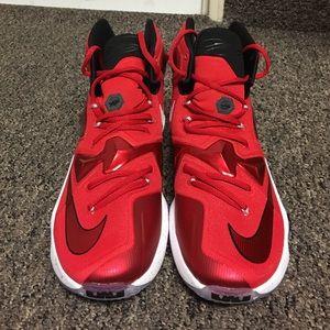 super popular bd1ad e8baf Nike Shoes - Lebron 13  129