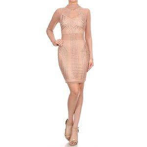 Thick Skin Studded Dress