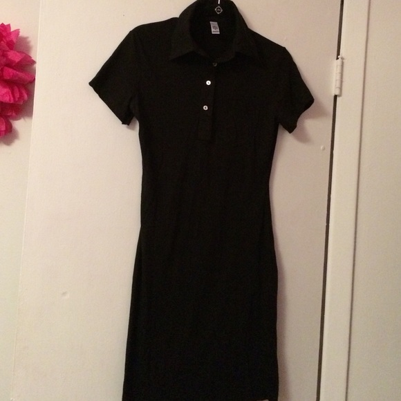 American Apparel Dresses Classic Girl Polo Tshirt Dress Poshmark