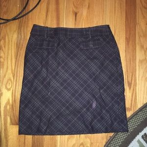 Ann Taylor brown skirt