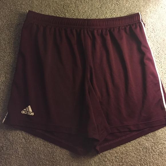 fced2bd49251 Adidas Other - Men s Adidas Maroon Athletic Shorts