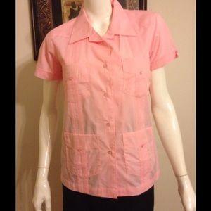 Cubavera Tops - Women's Guayabera Shirt