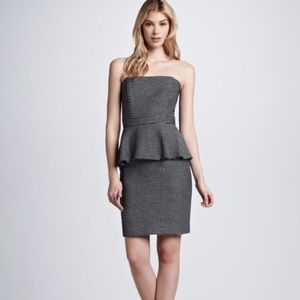 Shoshanna Dresses & Skirts - Shoshanna Natalya Strapless Jacquard dress