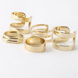 Stacks On Stacks Ring Set