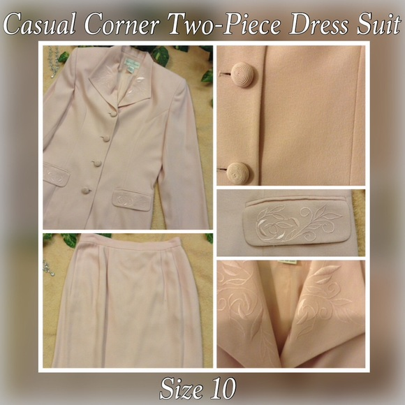 Casual Corner Skirts Two Piece Ladies Dress Suit Poshmark
