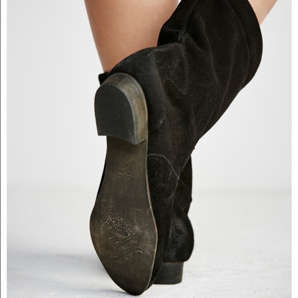 38% off Free People Shoes - Slouchy Free People Ankle Boots from ...