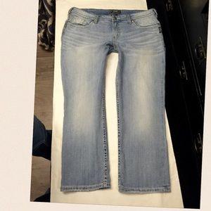 50% off Silver Jeans Denim - SILVER jeans Suki Surplus. Size 16