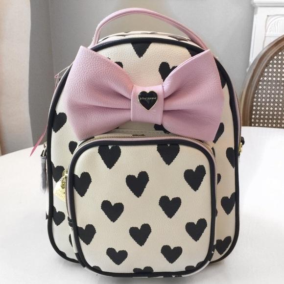 4439b236788 New🍂Betsey Mini Convertible Backpack