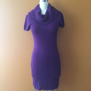 Sweater Project Dresses & Skirts - Cowl Turtle Neck Body Con cozy Sweater Dress!