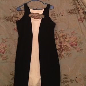 Charlotte Russe Black & White Dress