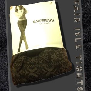 Express Accessories - 🆕Express Fair Isle Stockings
