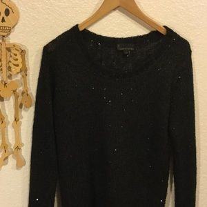 i jeans by Buffalo Tops - Sparkly Black Sweater Top