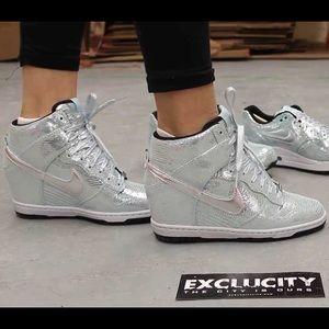 meet 819dd 0dc99 Nike Shoes - NIKE dunk sky hi disco ball we run SF sz 9 wedge