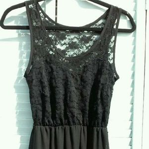 Foreign Exchange Dresses & Skirts - NEVER WORN --NWT. BLACK LACE DRESS