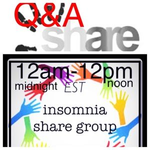Q&A for all 3 share groups: 3@3, 10@10, insomnia.