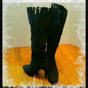 Nine West Shoes - Knee High Heeled Boots