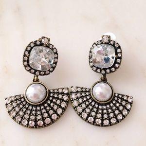 Baublebar Statement Crystal Drop Earrings
