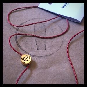 Half United Jewelry - Half United Addie Necklace Burgundy & Gold