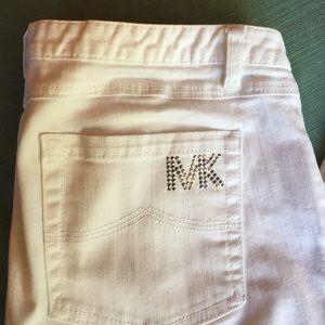 Michael Kors white jeans 29 in. Inseam