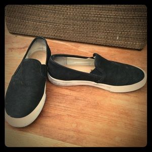 Banana Republic Suede slip on shoes