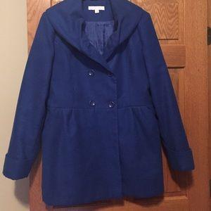 New York & Company Jackets & Blazers - Blue coat